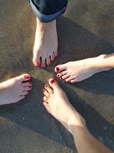 Gesunde Fußnägel ohne Nagelpilz dank Lavendelöl.
